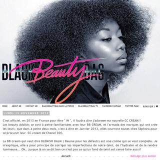 Black Beauty Bag - Paris